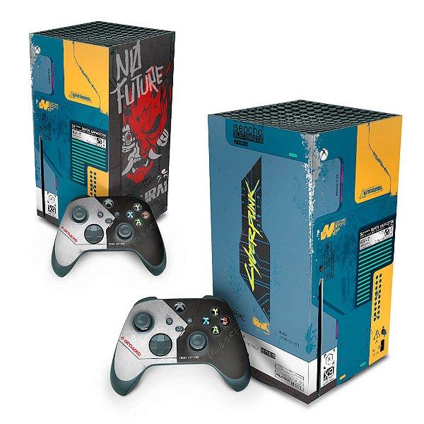 Xbox Series X Skin - Cyberpunk 2077 Bundle