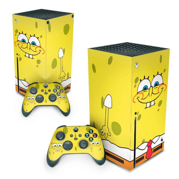 Xbox Series X Skin - Bob Esponja