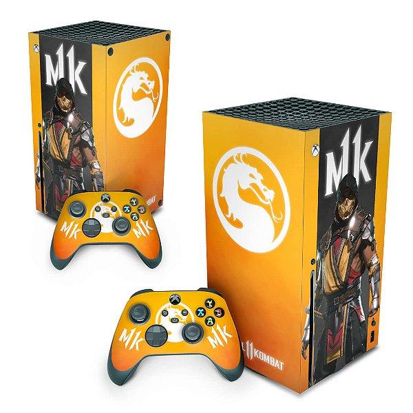 Xbox Series X Skin - Mortal Kombat 11