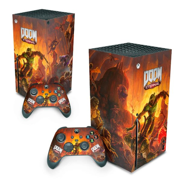 Xbox Series X Skin - Doom Eternal