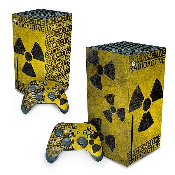 Xbox Series X Skin - Radioativo