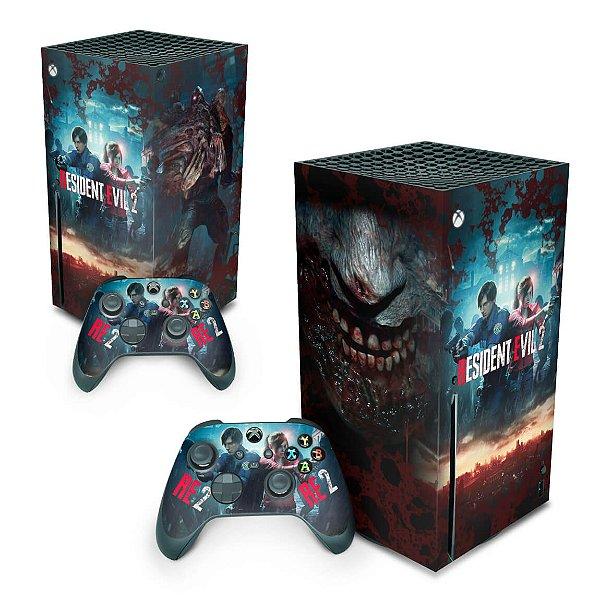 Xbox Series X Skin - Resident Evil 2 Remake