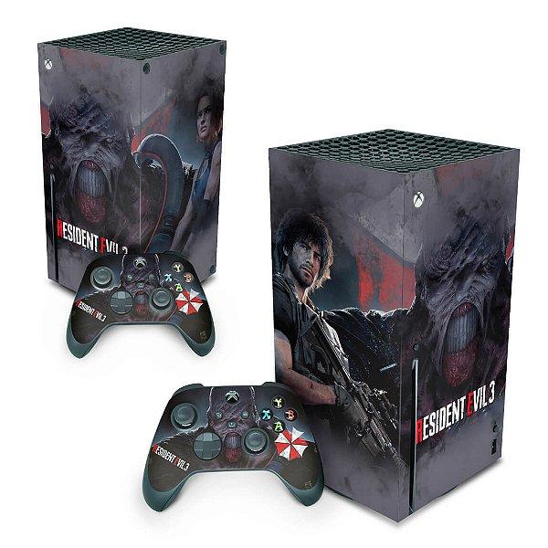 Xbox Series X Skin - Resident Evil 3 Remake
