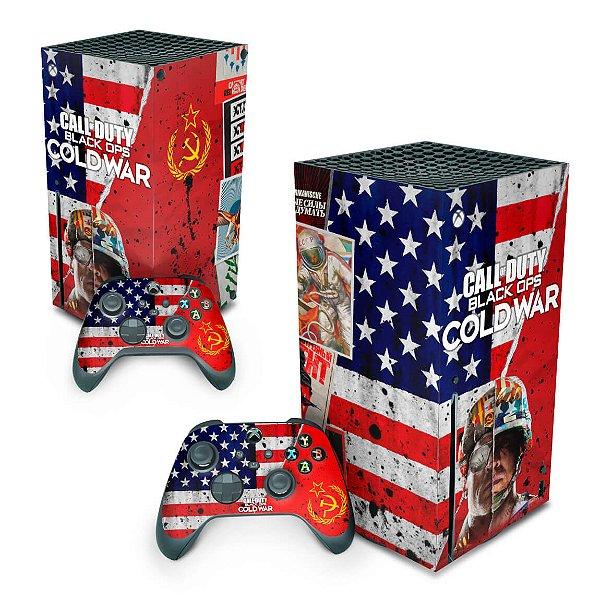 Xbox Series X Skin - Call Of Duty Cold War