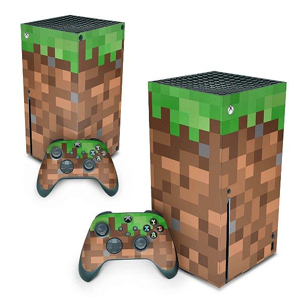 Xbox Series X Skin - Minecraft