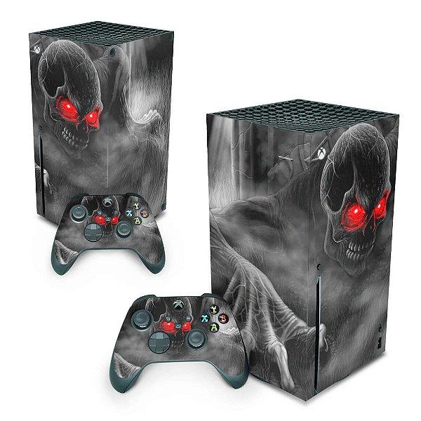 Xbox Series X Skin - Caveira Skull