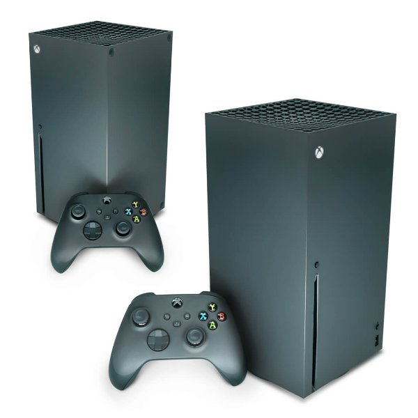 Xbox Series X Skin - Transparente