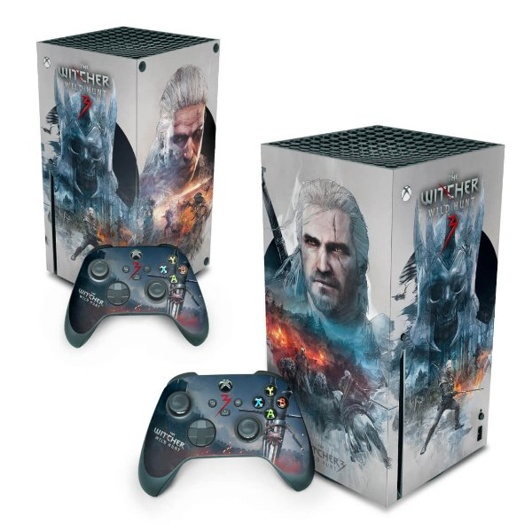 Xbox Series X Skin - The Witcher 3