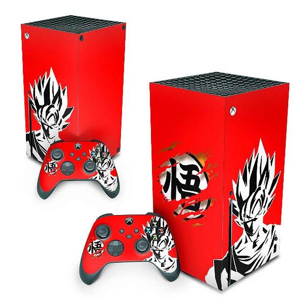 Xbox Series X Skin - Dragon Ball Goku Kaiô
