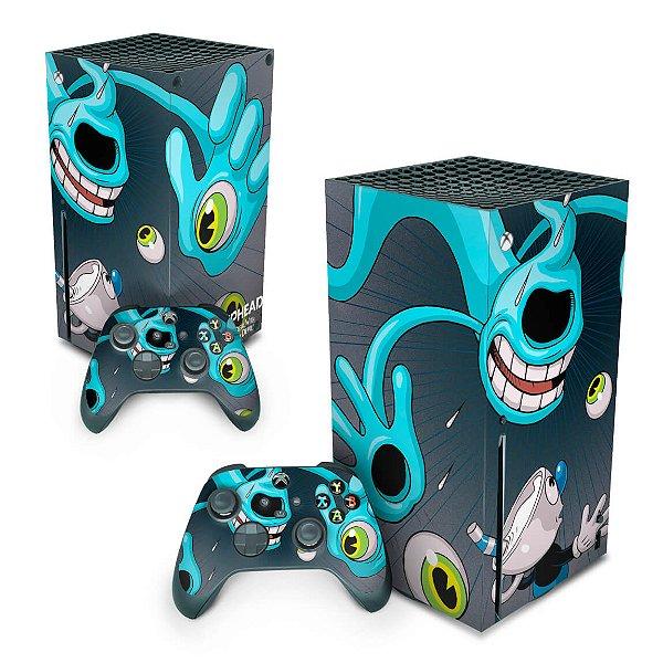 Xbox Series X Skin - Cuphead