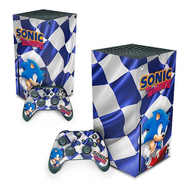 Xbox Series X Skin - Sonic