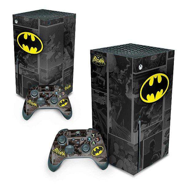 Xbox Series X Skin - Batman Comics