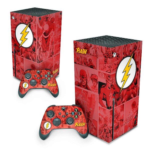 Xbox Series X Skin - The Flash Comics