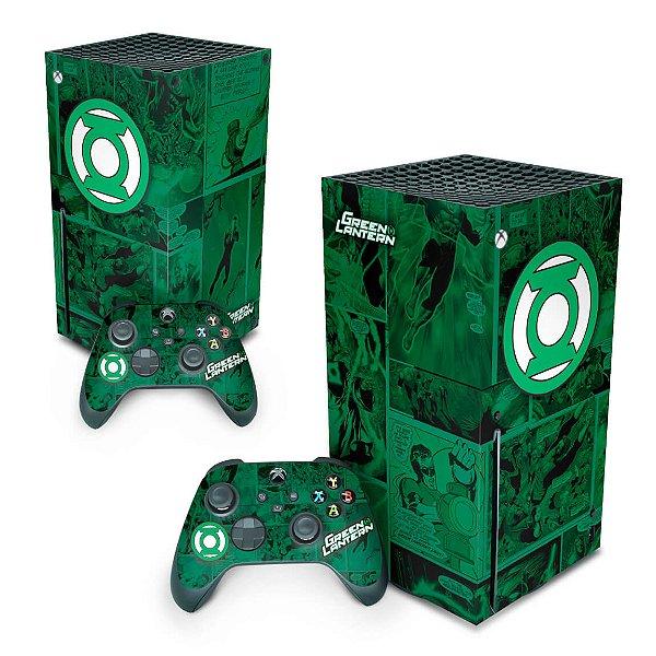 Xbox Series X Skin - Lanterna Verde Comics