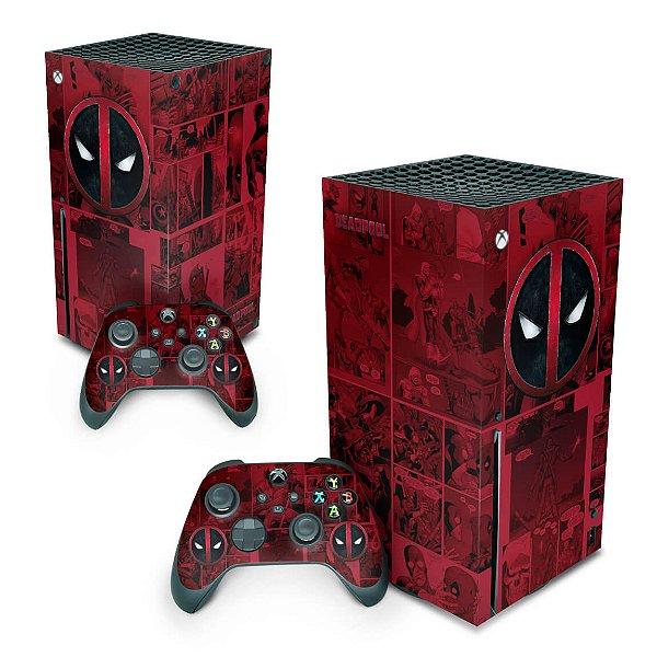 Xbox Series X Skin - Deadpool Comics