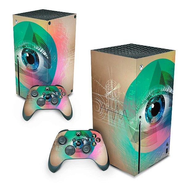 Xbox Series X Skin - Abstrato #89