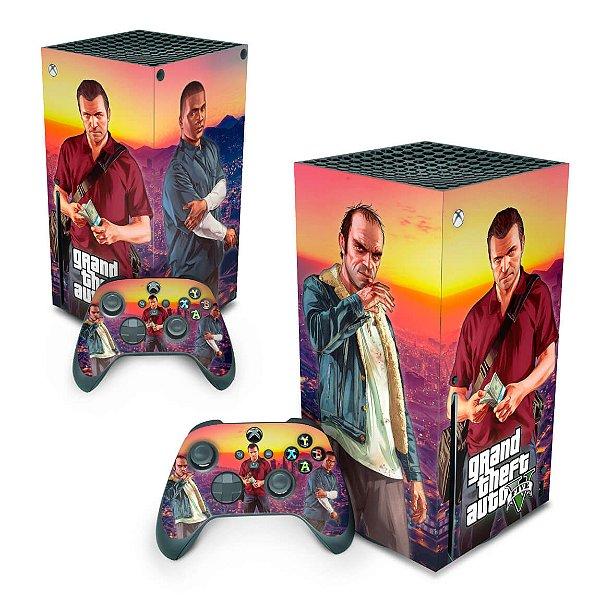 Xbox Series X Skin - GTA V