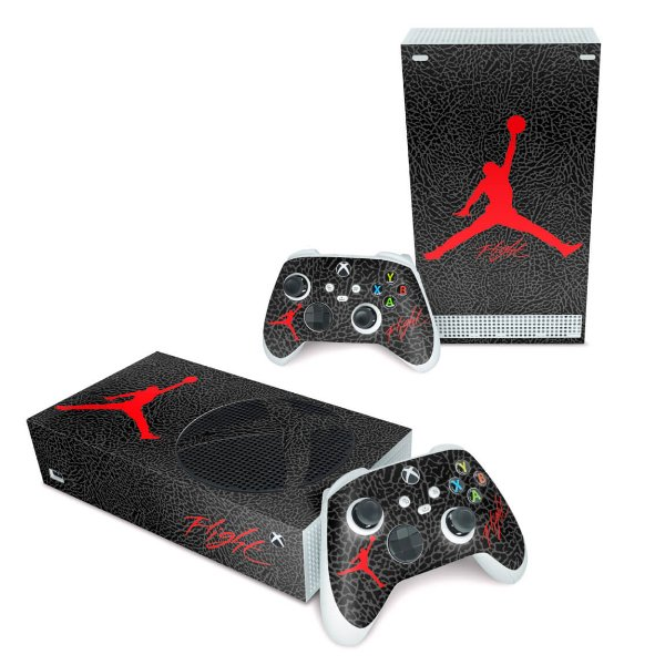 Xbox Series S Skin - Jordan Flight