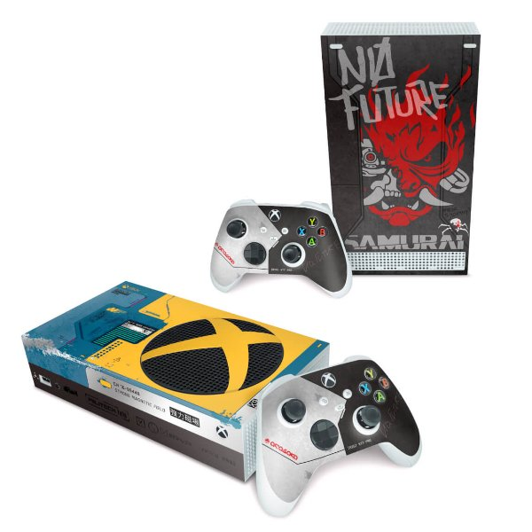 Xbox Series S Skin - Cyberpunk 2077 Bundle