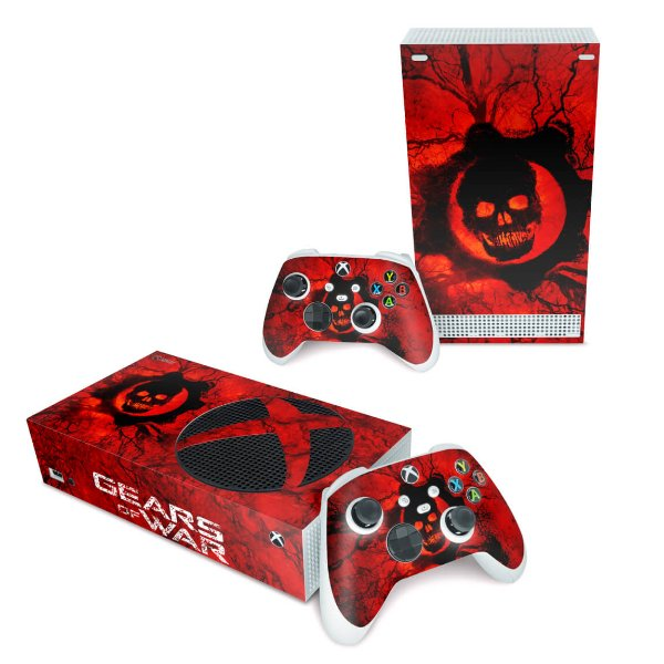 Xbox Series S Skin - Gears of War - Skull