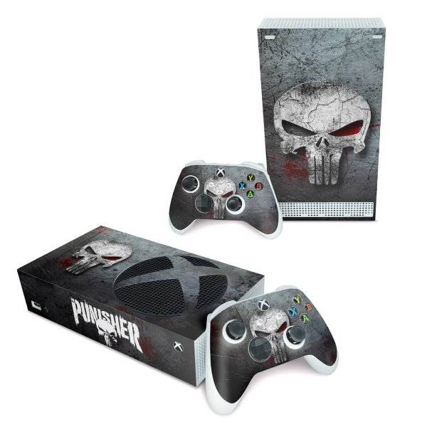 Xbox Series S Skin - The Punisher Justiceiro