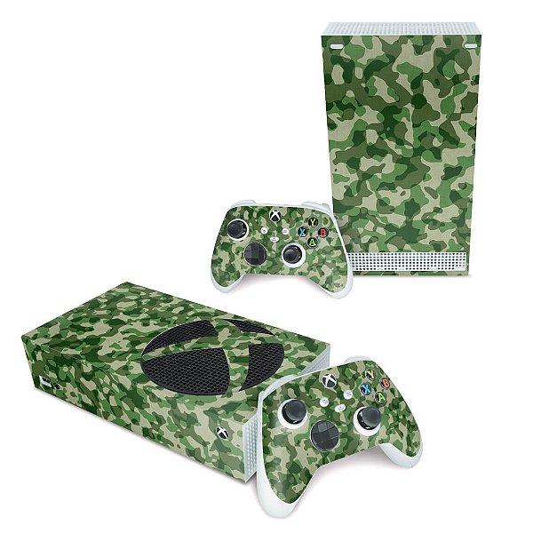Xbox Series S Skin - Camuflado Verde
