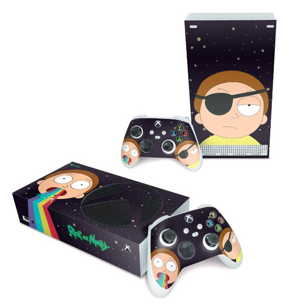 Xbox Series S Skin - Morty Rick And Morty