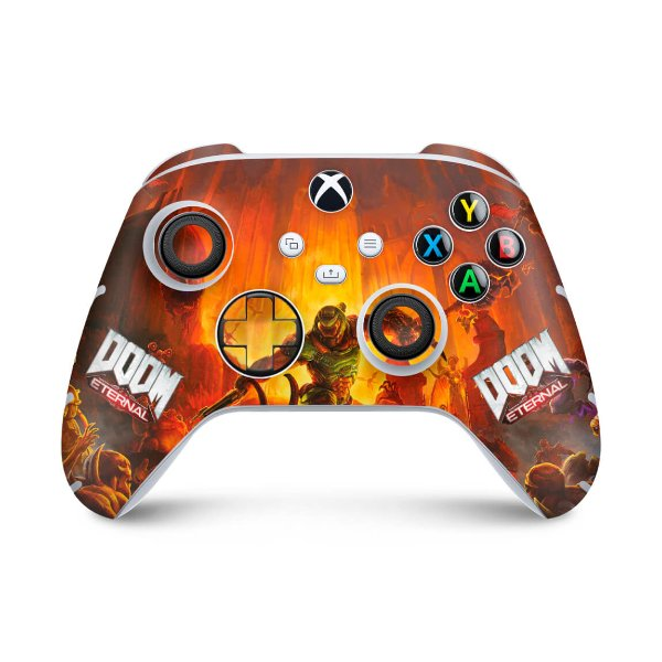 Xbox Series S X Controle Skin - Doom Eternal