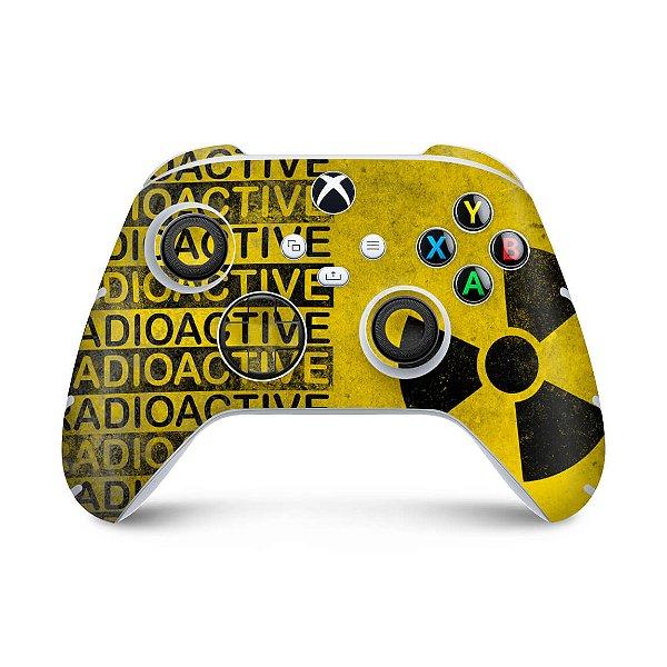 Xbox Series S X Controle Skin - Radioativo