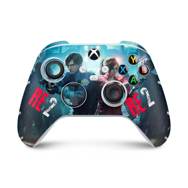 Xbox Series S X Controle Skin - Resident Evil 2 Remake