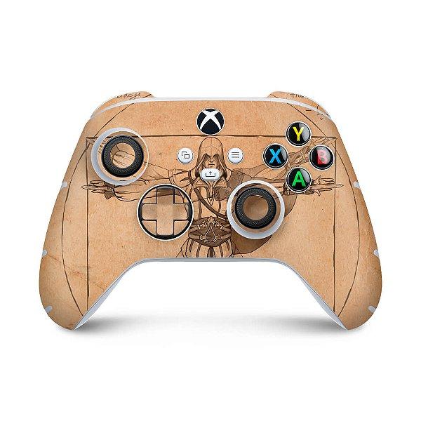 Xbox Series S X Controle Skin - Assassin'S Creed Vitruviano