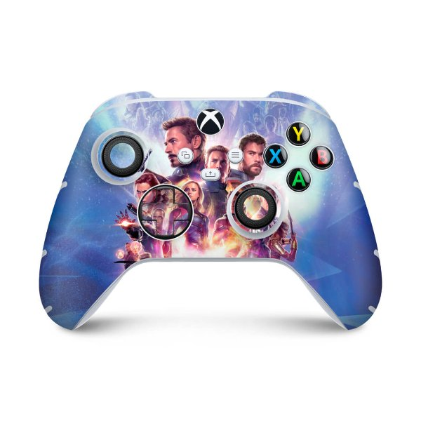 Xbox Series S X Controle Skin - Vingadores Ultimato Endgame