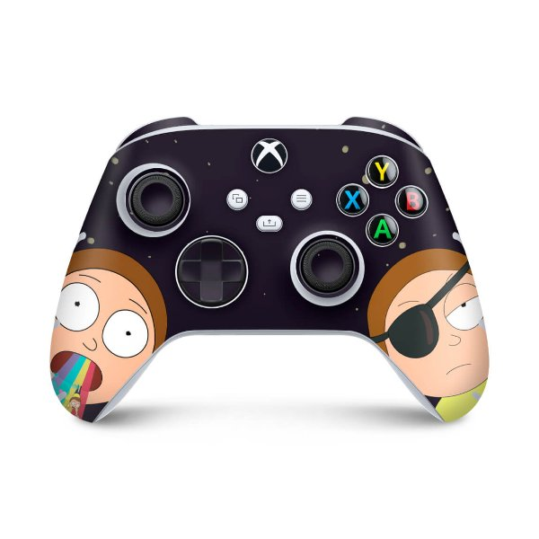 Xbox Series S X Controle Skin - Morty Rick And Morty