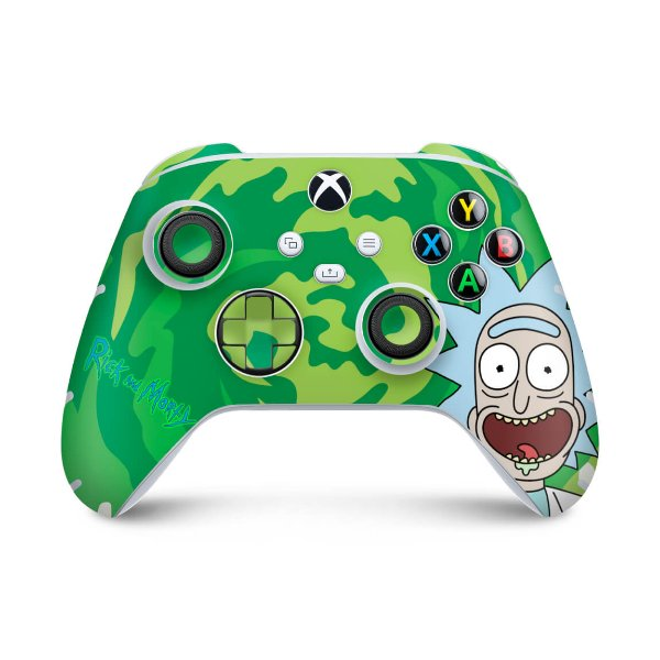 Xbox Series S X Controle Skin - Rick And Morty