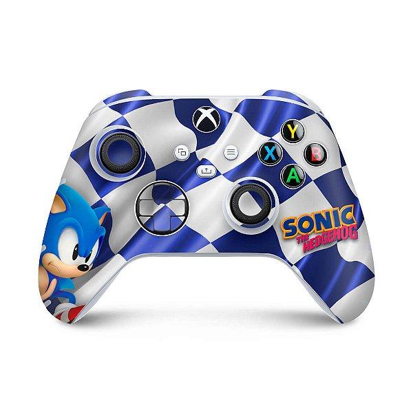 Xbox Series S X Controle Skin - Sonic
