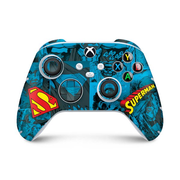 Xbox Series S X Controle Skin - Superman Comics