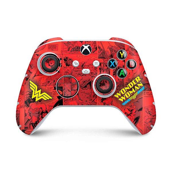 Xbox Series S X Controle Skin - Mulher Maravilha Comics