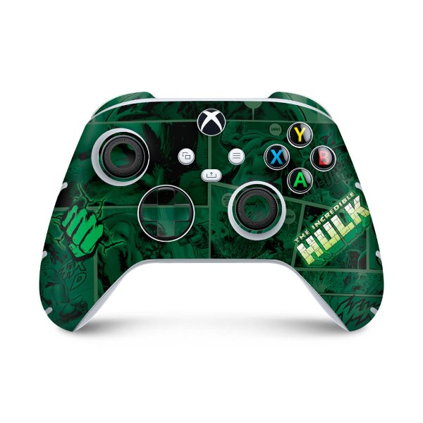 Xbox Series S X Controle Skin - Hulk Comics