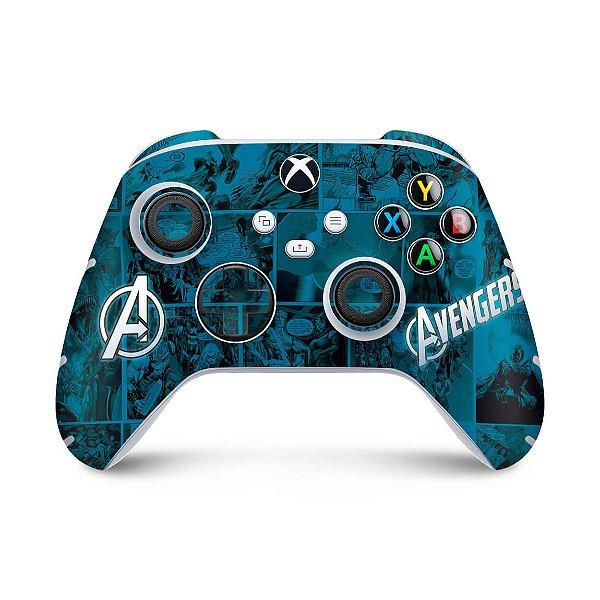 Xbox Series S X Controle Skin - Avengers Vingadores Comics