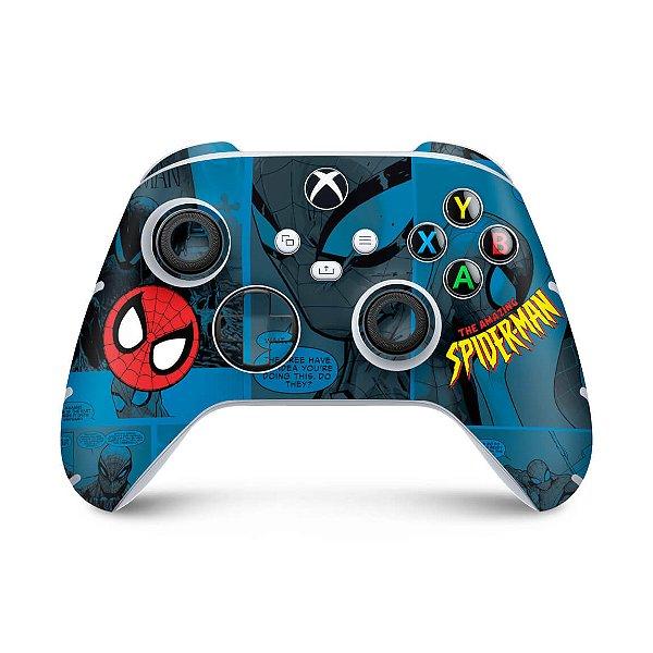 Xbox Series S X Controle Skin - Homem-Aranha Spider-Man Comics