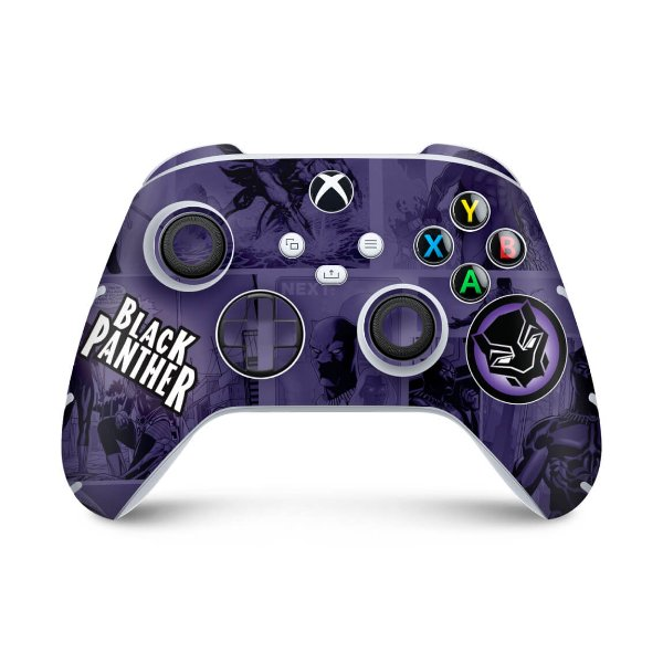 Xbox Series S X Controle Skin - Pantera Negra Comics