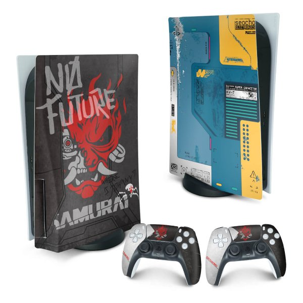 PS5 Skin - Cyberpunk 2077 Bundle
