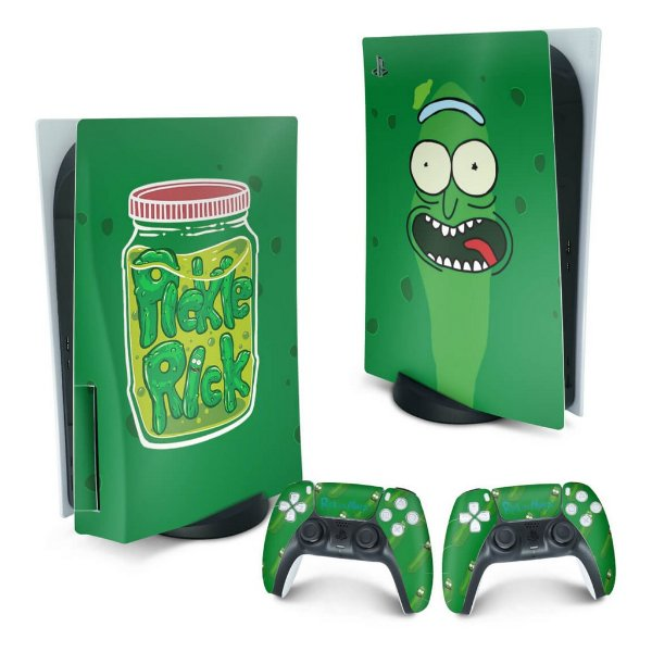 PS5 Skin - Pickle Rick And Morty