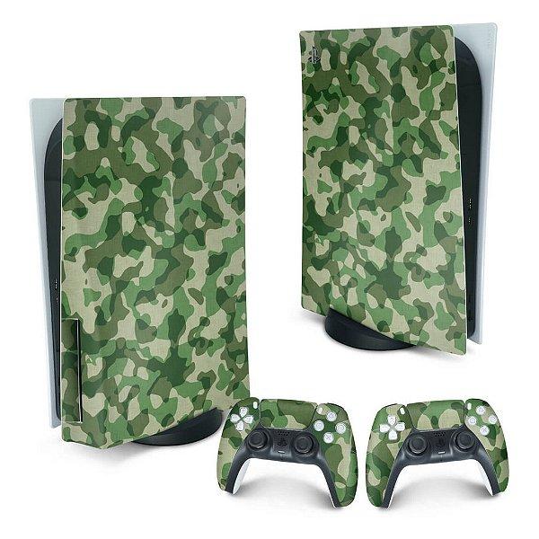 PS5 Skin - Camuflado Verde