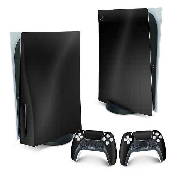 PS5 Skin - Preto Black Piano