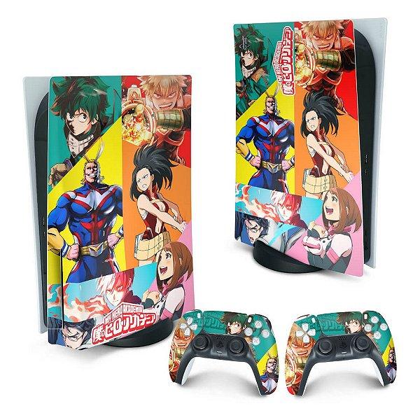 PS5 Skin - Boku No Hero Academia