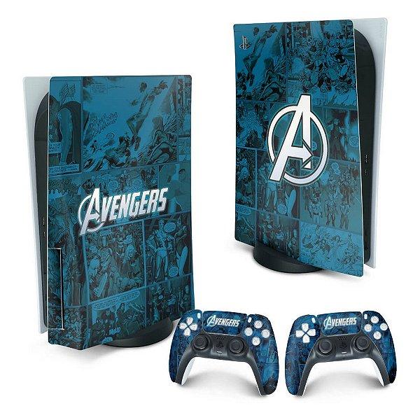 PS5 Skin - Avengers Vingadores Comics