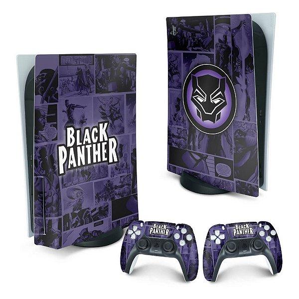 PS5 Skin - Pantera Negra Comics