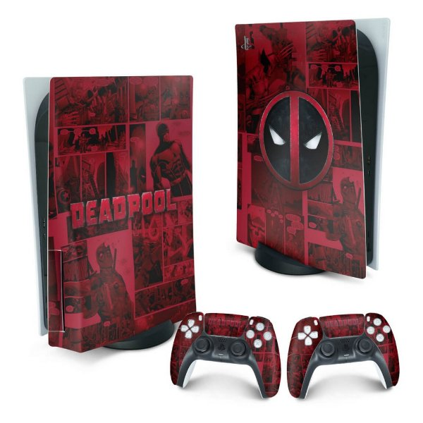 PS5 Skin - Deadpool Comics