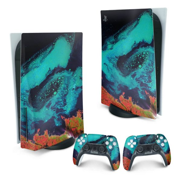 PS5 Skin - Abstrato #105